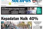 Halaman Depan Harian Umum Solopos edisi Senin, 6 Juli 2015