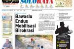 Halaman Soloraya Harian Umum Solopos edisi Rabu, 30 Juli 2015