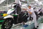Ilustrasi pabrik sepeda motor Honda. (Astra-honda.com)