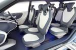 Interior mobil konsep Hyundai Hexa Space. (Autocarindia.com)