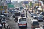 LEBARAN 2017 : Volume Kendaraan di Bundaran Kartasura Sukoharjo Meningkat, Begini Penjelasan Polisi