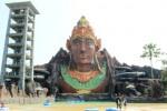Kolam renang utama objek wisata Pandawa Water World, Solo Baru, Sukoharjo. (Inna Surya Sari/JIBI/Solopos.com)
