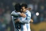 Lionel Messi tak menghasilkan gol pada laga semifinal melawan Paraguay. JIBI/Reuters