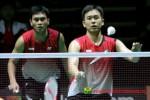 Pasangan Mohammad Ahsan/ Hendra Setiawan diperkirakan akan melaju mulus di babak awal. ist/pbsi