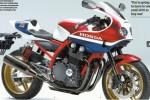 Sepeda motor konsep Honda CBR1100R dalam majalah Young Machine. (Autoevolution.com)