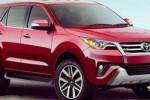 Sketsa digital Toyota Fortuner model 2016. (Autocar.com)