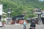 Pengendara sepeda motor melintas di Jl. Sudirman Wonogiri menuju Terminal Angkuta di Lingkungan Gerdu, Kelurahan Giripurwo, Kecamatan/Kabupaten Wonogiri. (Trianto HS/JIBI/Solopos)