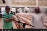 Janner Abdul Qadir, teknisi masjid Arab Saudi yang bikin netizen merinding (Istimewa/Youtube)