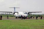 GUNUNG RAUNG MELETUS : Status Raung Masih Siaga, Bandara Banyuwangi Sudah Dibuka