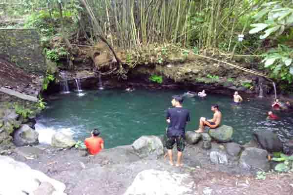 Suasana objek wisata Blue Lagoon Tirta Budi di Desa Wisata Dalem, Widodomartani, Ngemplak, Sleman belum lama ini. (JIBI/Harian Jogja/Bernadheta Dian Saraswati)