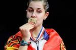 Pebulutangkis Spanyol Carolina Marin akan hadir mempertahanlkan gelar juara dunia di Jakarta. Ist/dok