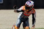 Pembalap Casey Stoner mengalami kecelakaan saat membalap di Jepang. Ist/dok