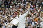WIMBLEDON 2015 : Federer Puji Djokovic Memang Tangguh
