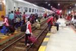 Penumpang KA di Stasiun-Stasiun Daops Madiun Masih Berlimpah
