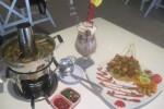 Sup iga kambing, Kasbar Coffee Ice, dan Peetama Sheesqatar Lahem ala Restoran Zam-Zam, Jl. Letjen Suprapto Solo. (Eni Widiastuti/JIBI/Solopos)