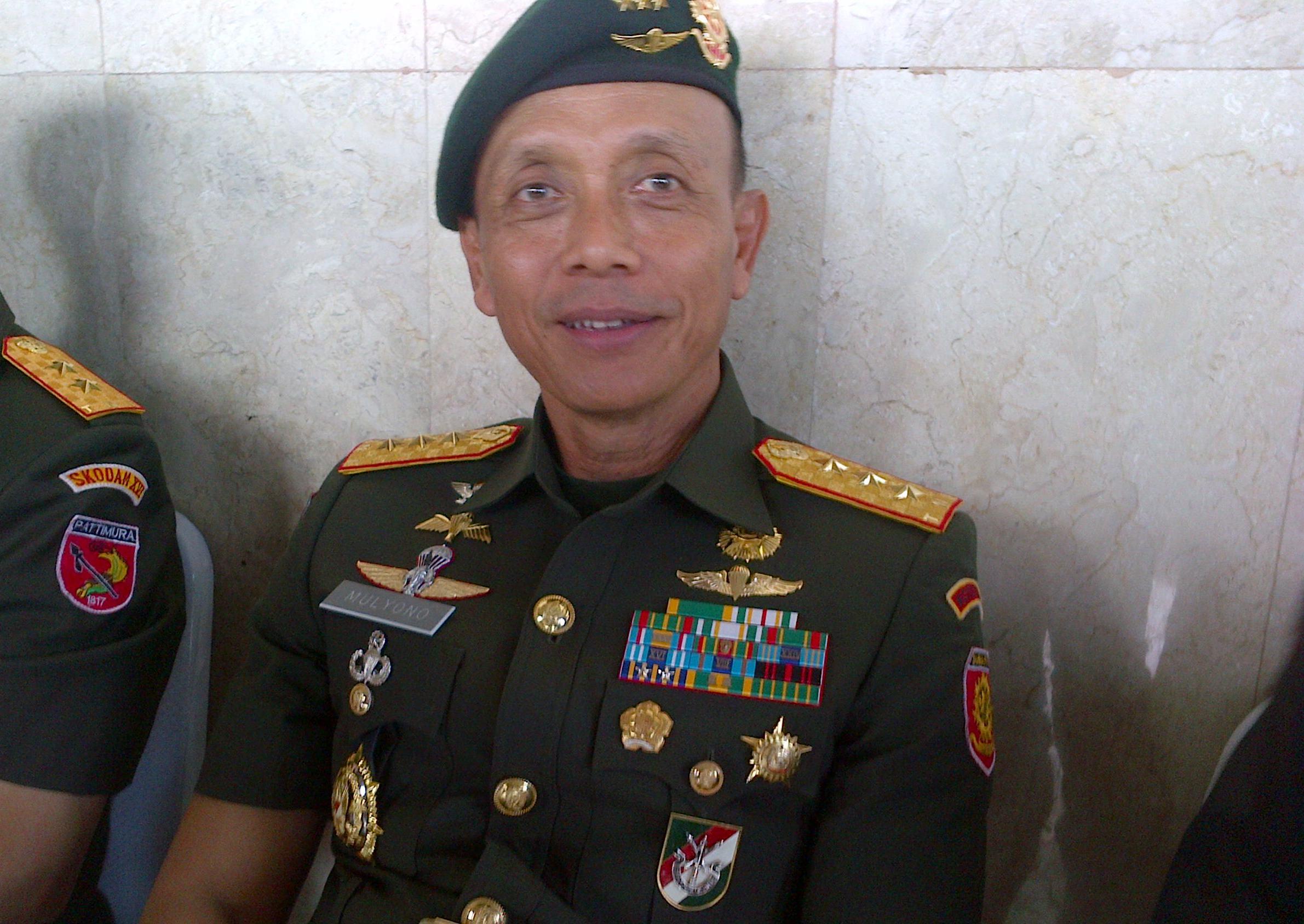 MUTASI TNI : Dilantik Jadi KSAD, Mulyono Bersumpah Takkan Terima Gratifikasi