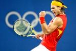 Performa Rafael Nadal belum kembali prima. Turun di turnamen Hamburg Open, Nadal nyaris tumbang di babak awal. Ist/rafaelnadalfans.com