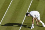 Petenis Jepang Kei Nishikori tak bisa melanjutkan keikutsertaannya di turnamen Wimbledon. JIBI/Rtr