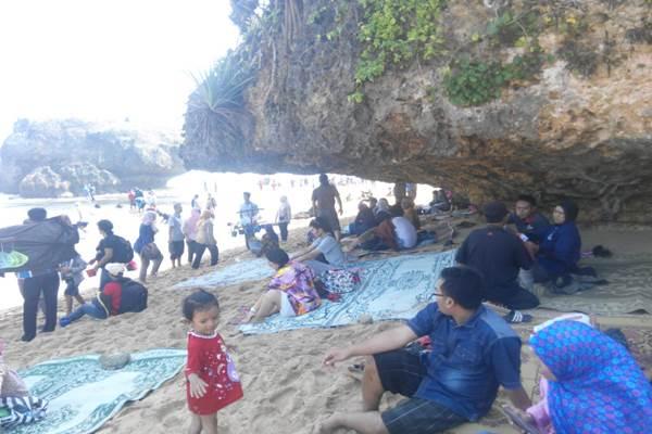 Pantai Kukup Gunungkidul (JIBI/Harian Jogja/David Kurniawan)
