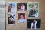 Foto para pendaki yang sempat tersesat di Gunung Lawu. Foto-foto tersebut ditempel di papan pengumuman Pos Cemorokandang selama proses pencarian, Rabu (29/7/2015). (Bayu Jatmiko Adi/JIBI/Solopos)