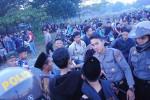 Aparat kepolisian tengah melakukan razia di kawasan Stadion Sultan Agung, Minggu (5/7/2015) pagi. (JIBI/Harian Jogja/Arief Junianto)