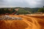 Proyek Waduk Gondang, Karanganyar. (Sri Sumi Handayani/JIBI/Solopos)