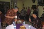 SBY saat makan siang di Pracimantoro, Wonogiri, Sabtu (15/8/2015). (Trianto Hery Suryono/JIBI/Solopos)