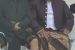 Seno Samodro dan Agus Purmanto saat upacara Hadi Jadi Boyolali. (Hijriyah Al Wakhidah/JIBI/Solopos)
