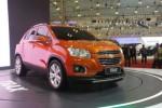 Chevrolet Trax diperkenalkan di GIIAS 2015. (Liputan6.com)