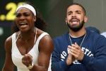 Serena Williams dan kekasih barunya, Drake, seorang penyanyi rap dari Afsel. Ist/tvnewsroom.org
