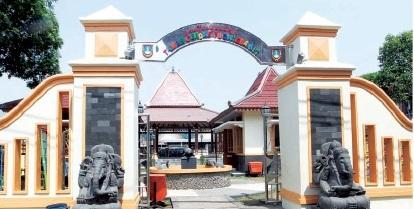 Gerbang masuk Taman Cerdas Pucangsawit (Dok/JIBI/Solopos)