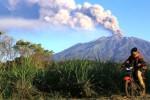 GUNUNG RAUNG MELETUS : Abu Vulkanis Raung Makin Tebal dan Luas