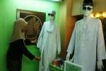 Koleksi baju haji yang ditawarkan untuk para jamaah calon haji. (JIBI/Harian Jogja/Abdul Hamied Razak)