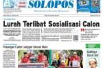Halaman Depan Harian Umum Solopos edisi Jumat, 28 Agustus 2015