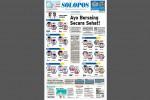 Halaman Depan Harian Umum Solopos edisi Rabu, 26 Agustus 2015