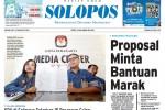Halaman Depan Harian Umum Solopos edisi Selasa, 25 Agustus 2015