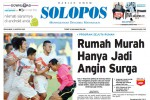 Halaman Depan Harian Umum Solopos edisi Senin, 3 Agustus 2015
