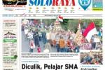 Halaman Soloraya Harian Umum Solopos edisi Senin, 24 Agustus 2015