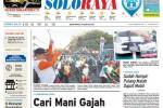 Halaman Soloraya Harian Umum Solopos edisi Senin, 31 Agustus 2015