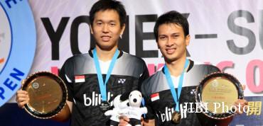 Hendra/Ahsan Ingin Jadi Juara Dunia (Badmintonindonesia.org)