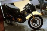 Honda Sonic 150R hasil modifikasi AHM. (Motorblitz.com)