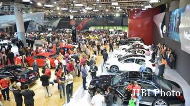 Ilustrasi pameran otomotif. (Dyandra.com)