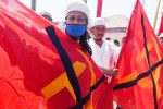Ilustrasi penolakan masyarakat atas tumbuhnya lagi paham komunis. (JIBI/Solopos/Antara/Zabur Karuru)