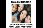 Meme #BahagiaItuSederhana (Twitter.com/@bisot)