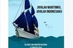 Meme Peringatan Hari Maritim Nasional (Twitter.com/@kutukutubuku)