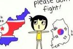 Meme konflik Korsel-Korut (Twitter.com/@subian12)