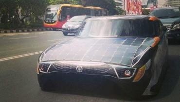 Mobil Widya Wahana V saat menempuh perjalanan Jakarta-Denpasar. (JIBI/Bisnis/Istimeta-ITS)