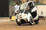 Mobil konsep Toyota I-Road. (Ecomento.com)