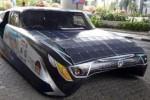 Mobil tenaga surya Widya Wahana V. (Okezone.com)