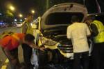 KEBAKARAN SRAGEN : Mobil Terbakar, 2 PMK Disiagakan